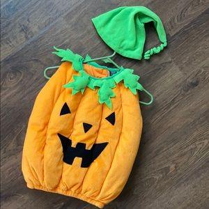 Warm Pumpkin Costume